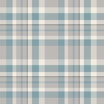 タータンスコットランドシームレスな格子縞のパターン。レトロな背景の生地。ビンテージチェック色の正方形の幾何学的なテクスチャー。