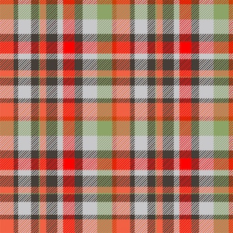 Тартан шотландия бесшовные плед. ретро фон ткань. винтажная проверка цвета квадратной геометрической текстуры.