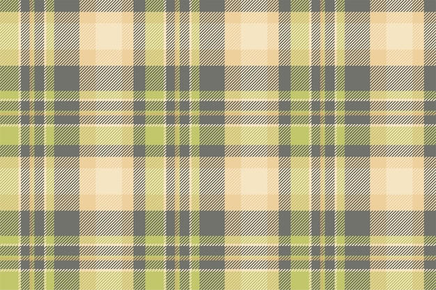 타탄 스코틀랜드 원활한 격자 무늬 패턴입니다. 복고풍 배경 패브릭입니다. 빈티지 체크 색상 사각형 기하학적 텍스처