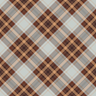 타탄 스코틀랜드 원활한 격자 무늬 패턴입니다. 레트로 배경 직물입니다. 빈티지 체크 색 사각형 형상 텍스처입니다.
