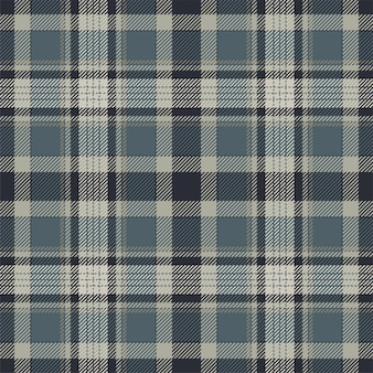タータンスコットランドシームレスな格子縞のパターン。レトロな背景の生地。ヴィンテージチェックカラースクエアジオメトリック。