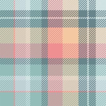 タータンスコットランドのシームレスな格子縞のパターン。レトロな背景の生地。ヴィンテージチェックカラースクエア。