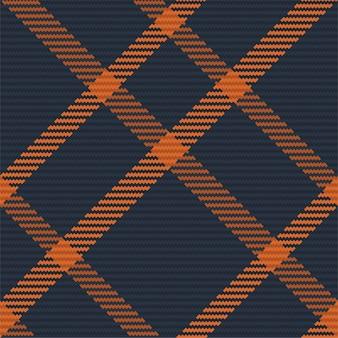 タータンチェックのスコットランドのシームレスなチェック柄。レトロな背景生地。