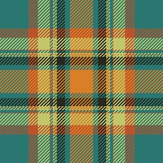 Tartan scotland seamless plaid pattern . retro background . vintage check color square geometric . Premium Vector