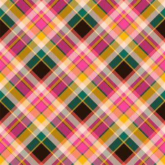 Tartan scotland seamless plaid pattern . retro background . vintage check color square geometric .