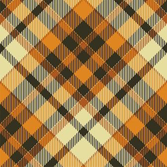 타탄 스코틀랜드 원활한 격자 무늬 패턴입니다. 레트로 배경입니다. 빈티지 체크 색상 사각형 형상.
