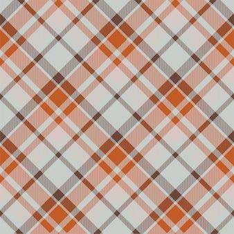タータンスコットランドのシームレスな格子縞のパターン。レトロな生地。ヴィンテージチェックの幾何学模様。