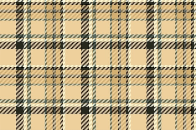 タータンスコットランドのシームレスな格子縞のパターンベクトル。レトロな背景生地。テキスタイルプリント、包装紙、ギフトカード、壁紙フラットデザインのヴィンテージチェックカラーの正方形の幾何学的なテクスチャ。