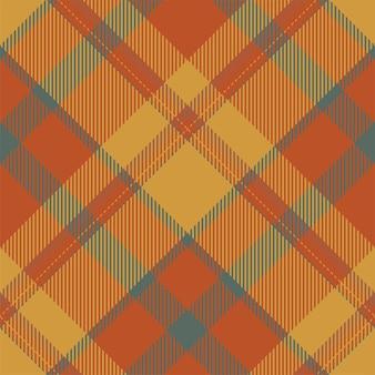 타탄 스코틀랜드 원활한 격자 무늬 패턴 벡터입니다. 레트로 배경 패브릭입니다. 섬유 인쇄, 포장지, 선물 카드, 벽지 평면 디자인을 위한 빈티지 체크 색상 사각형 기하학적 질감.