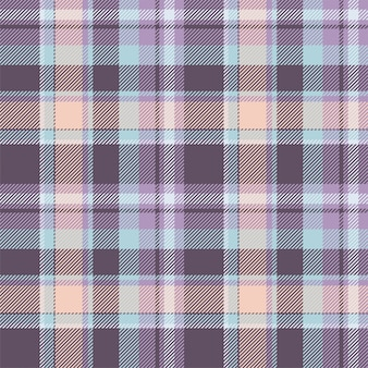 Tartan scotland seamless plaid pattern vector. retro background fabric. vintage check color square geometric texture for textile