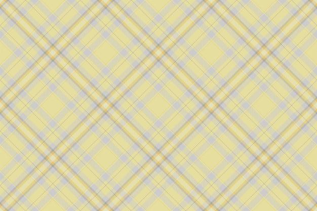 タータンスコットランドのシームレスな格子縞パターンベクトル。レトロな背景の生地。ビンテージチェック色の正方形の幾何学的なテクスチャー。