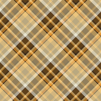 타탄 스코틀랜드 원활한 격자 무늬 패턴 벡터입니다. 레트로 배경 직물입니다. 빈티지 체크 색 사각형 형상 텍스처입니다. 프리미엄 벡터