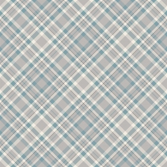 タータンスコットランドシームレスな格子縞のパターンベクトル。レトロな背景の生地。ビンテージチェック色の正方形の幾何学的なテクスチャー。
