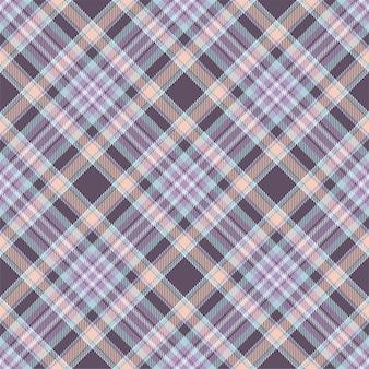 タータンチェックスコットランドシームレス格子縞パターンベクトル。レトロな背景生地。ヴィンテージチェックカラー
