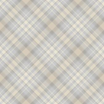 타탄 스코틀랜드 원활한 격자 무늬 패턴 벡터. 복고풍 배경 패브릭입니다.