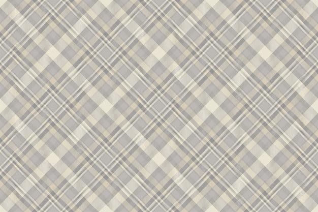 Tartan scotland seamless plaid pattern vector.