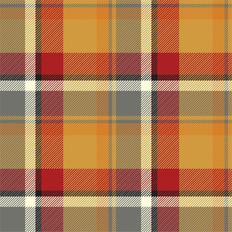 Tartan scotland seamless plaid pattern vector