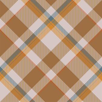 타탄 스코틀랜드 원활한 격자 무늬 패턴 벡터