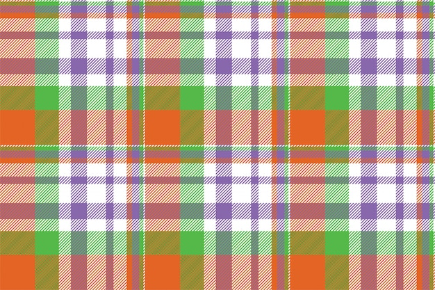 Tartan scotland seamless plaid pattern. vintage check color square geometric texture. Premium Vector