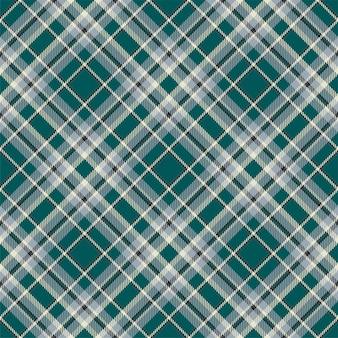 타탄 스코틀랜드 원활한 격자 무늬 패턴입니다. 빈티지 체크 색 사각형 형상 텍스처입니다.