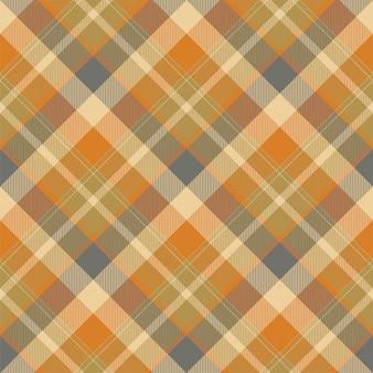 タータンスコットランドシームレスな格子縞のパターン