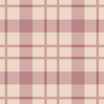 타탄 원활한 패턴 배경입니다. 가을 컬러의 체크무늬, 타탄 플란넬 셔츠 패턴. 최신 유행 타일 벽지에 대 한 벡터 일러스트 레이 션.
