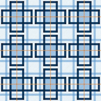 Tartan seamless pattern fabric background.