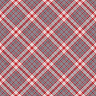 タータンチェックのシームレスパターン。レトロな生地。ヴィンテージの幾何学的な質感。斜めプリントテキスタイル