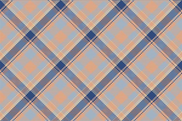 Tartan seamless pattern. retro fabric. vintage geometric texture. diagonal print textile