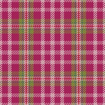 Tartan seamless pattern. retro fabric. vintage geometric texture