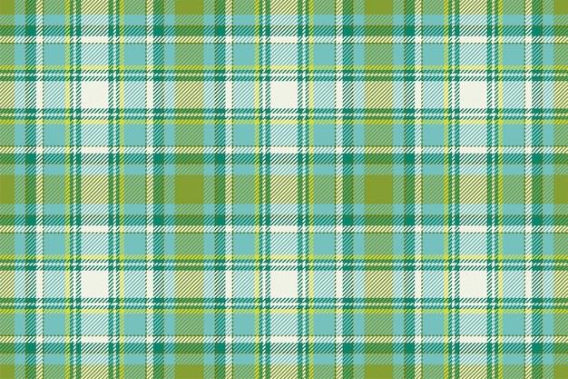 タータンのシームレスな格子縞のパターン。ビンテージチェック色の正方形の幾何学的なテクスチャー。