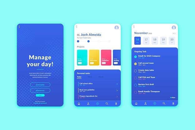 작업 관리 앱 개념