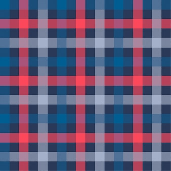 Tattersall material color seamless pattern