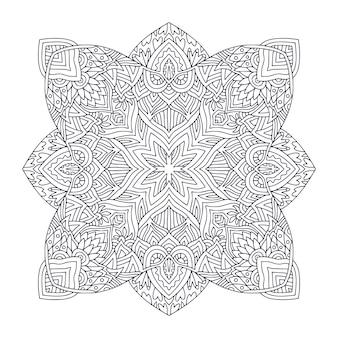 Tattoo art design detailed ornament pattern
