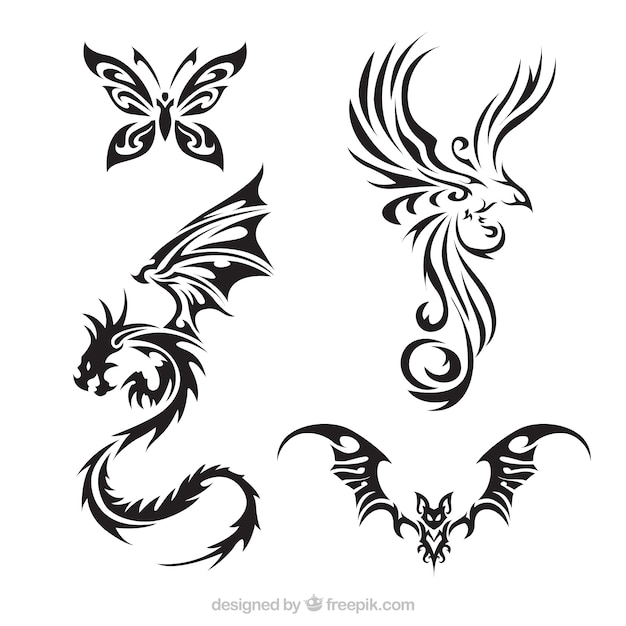 tattoo vectors photos and psd files free download rh freepik com vector tattoo art vector tattoo machine