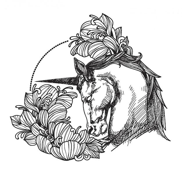 Tattoo horse