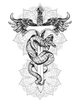 Tattoo snake