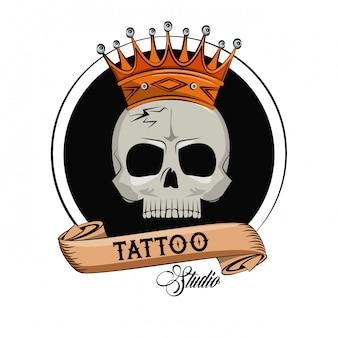 Tattoo studio old school