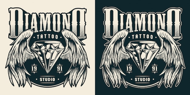 Tattoo studio print