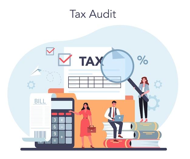 税理士の概念。