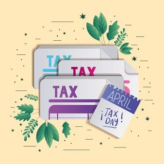 Tax day calendar