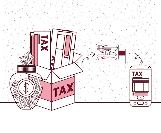 Значки на день налогового дня