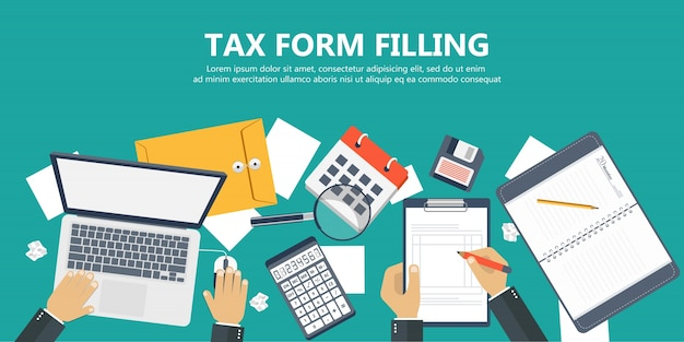Tax form filling