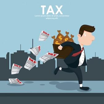 税務当局給料日