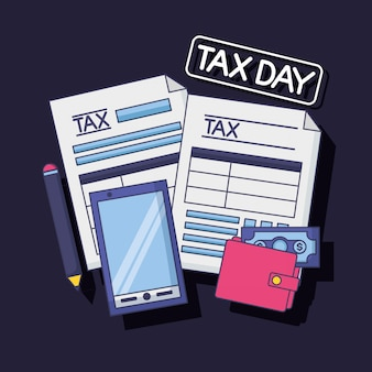 Tax payment concept