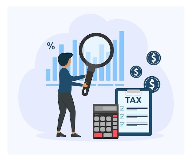 納税データ分析財務調査