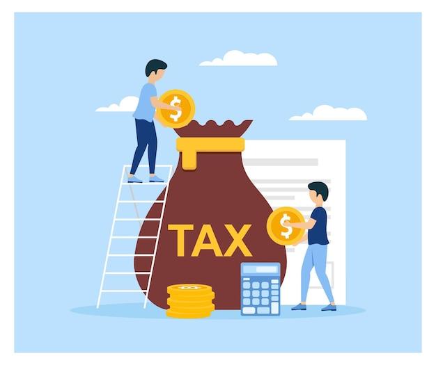 세금 납부 정부 국세 개념