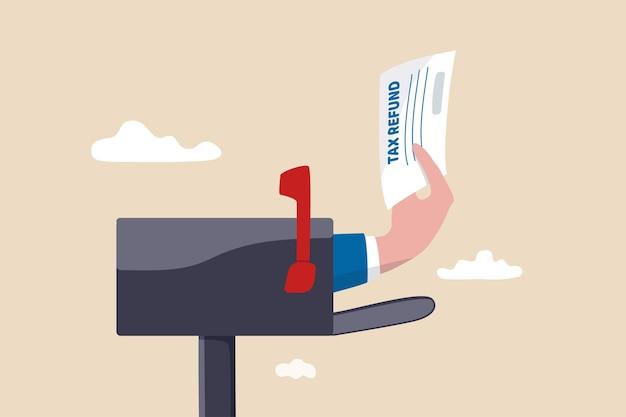 Tax refund or rebate credit