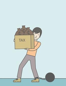 Tax slave.