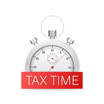 Tax time design, deadline, planning.